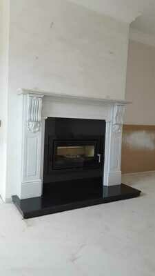 The grande William fireplace
