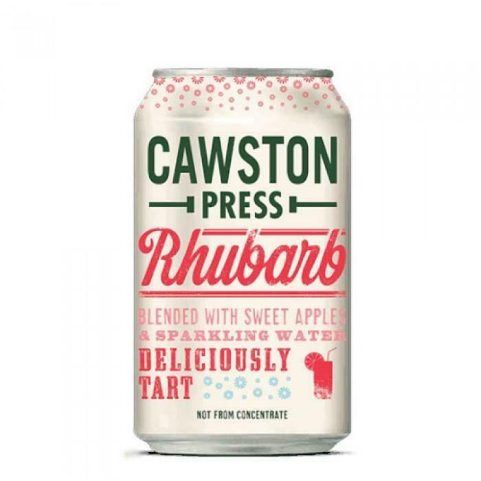 Cawston Rhubarb Sparkle