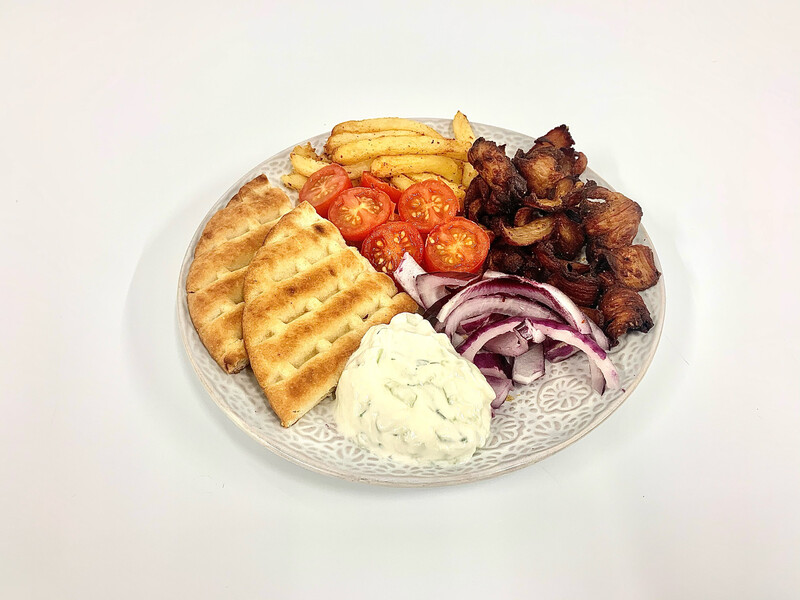 Greek Gyros with Pita