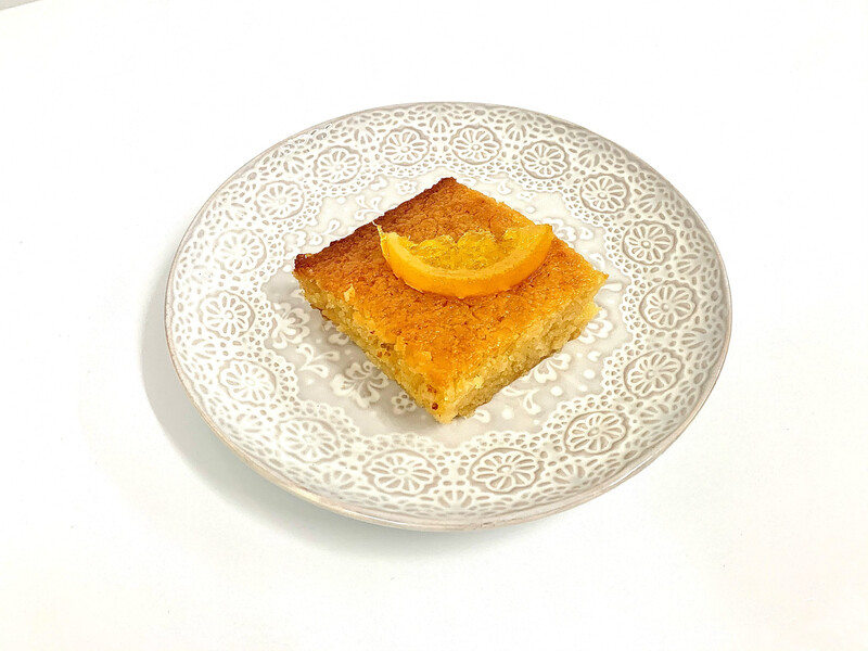 Greek Orange Pie