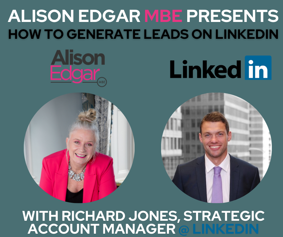 How to Generate Leads on LinkedIn – exclusive interview style webinar with Richard Jones, Strategic Account Manager at LinkedIn