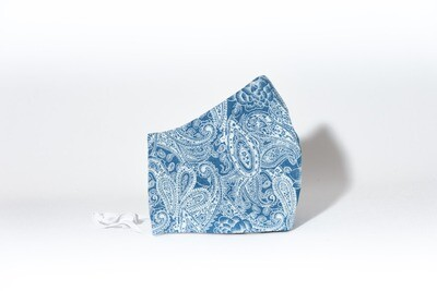 Paisley bleu pâle