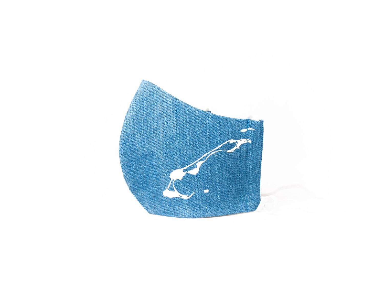 Les îles bleu pâle