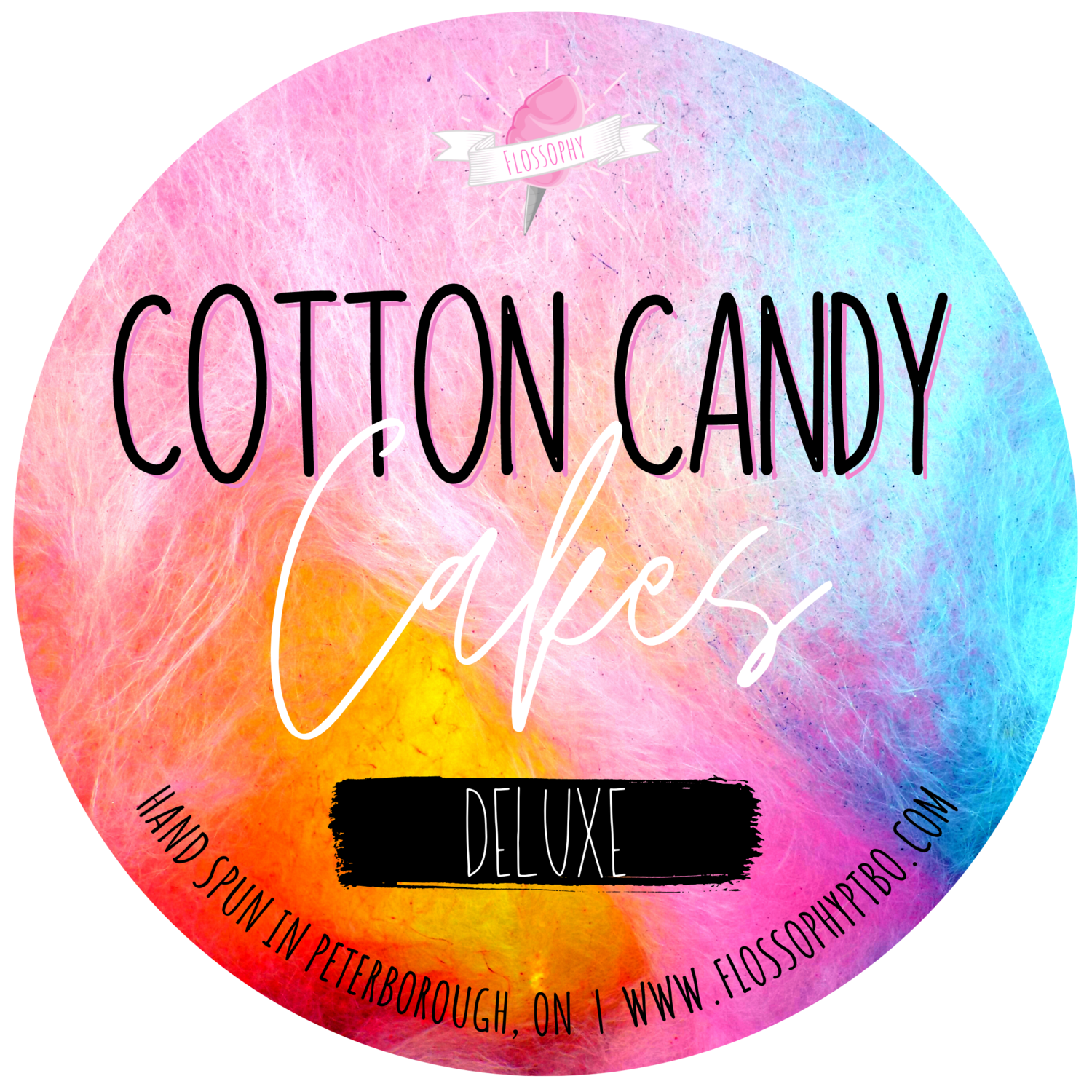 Cotton Candy Cake [DELUXE]