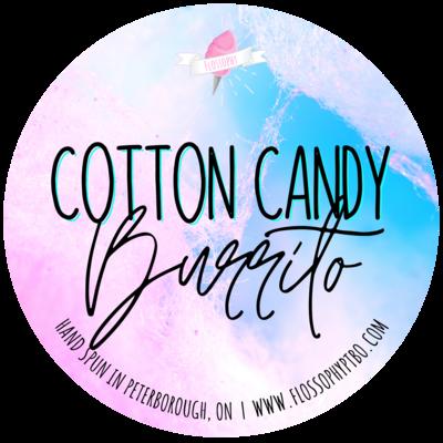 Cotton Candy Burrito