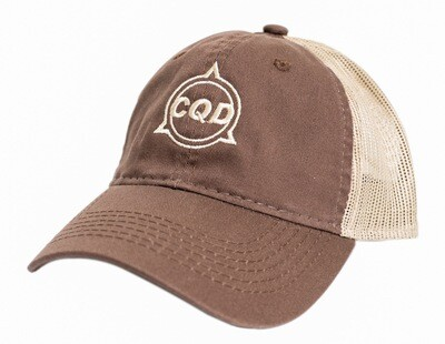 CQD® Hat Brown/Tan