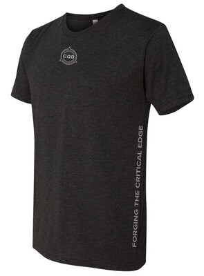 CQD® Forging the Critical Edge™ T-Shirt - Black