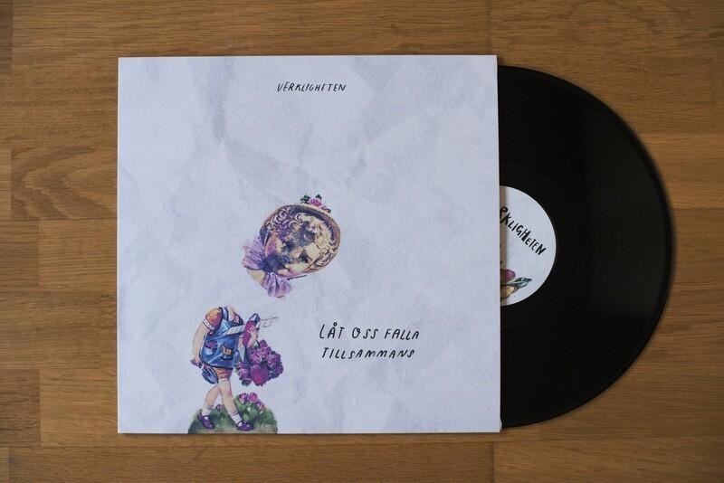 Verkligheten - Låt oss falla tillsammans (vinyl)
