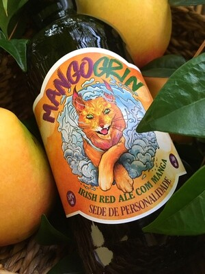 Mango Grin, Irish Red Ale com manga, 500 ml