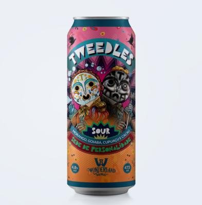 Tweedles, Sour Ale com morango, goiaba, cacau e cupuaçu, lata 473 ml