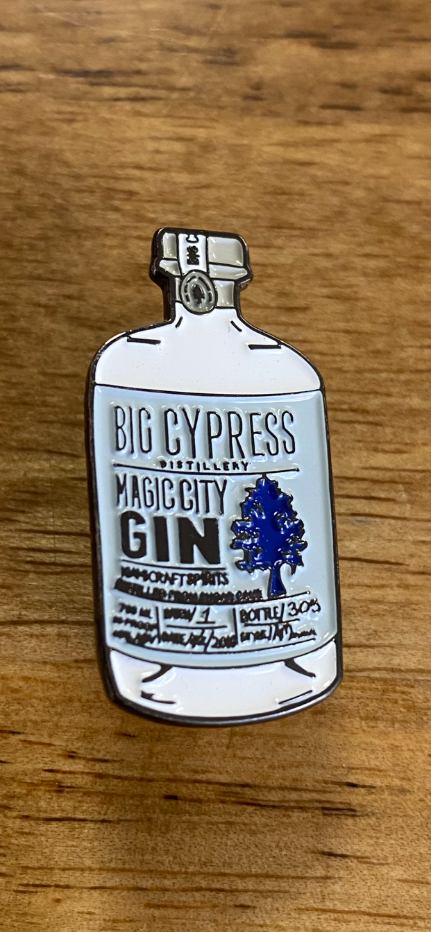 Magic City Gin Pin