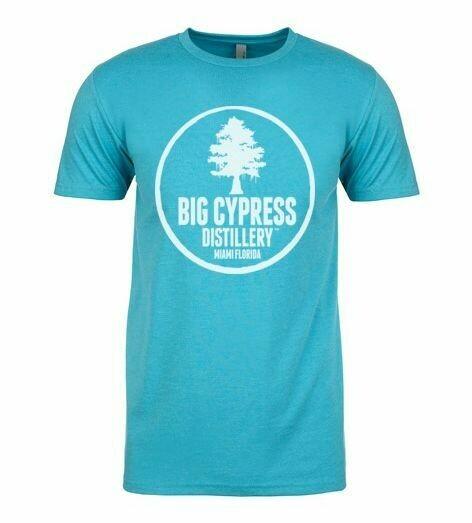 Blue Big Cypress Distillery Miami T-SHIRT