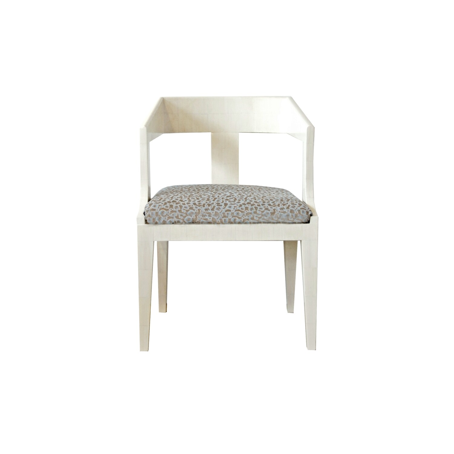 Imperial Chair in Hand-Painted Faux Ivory Finish