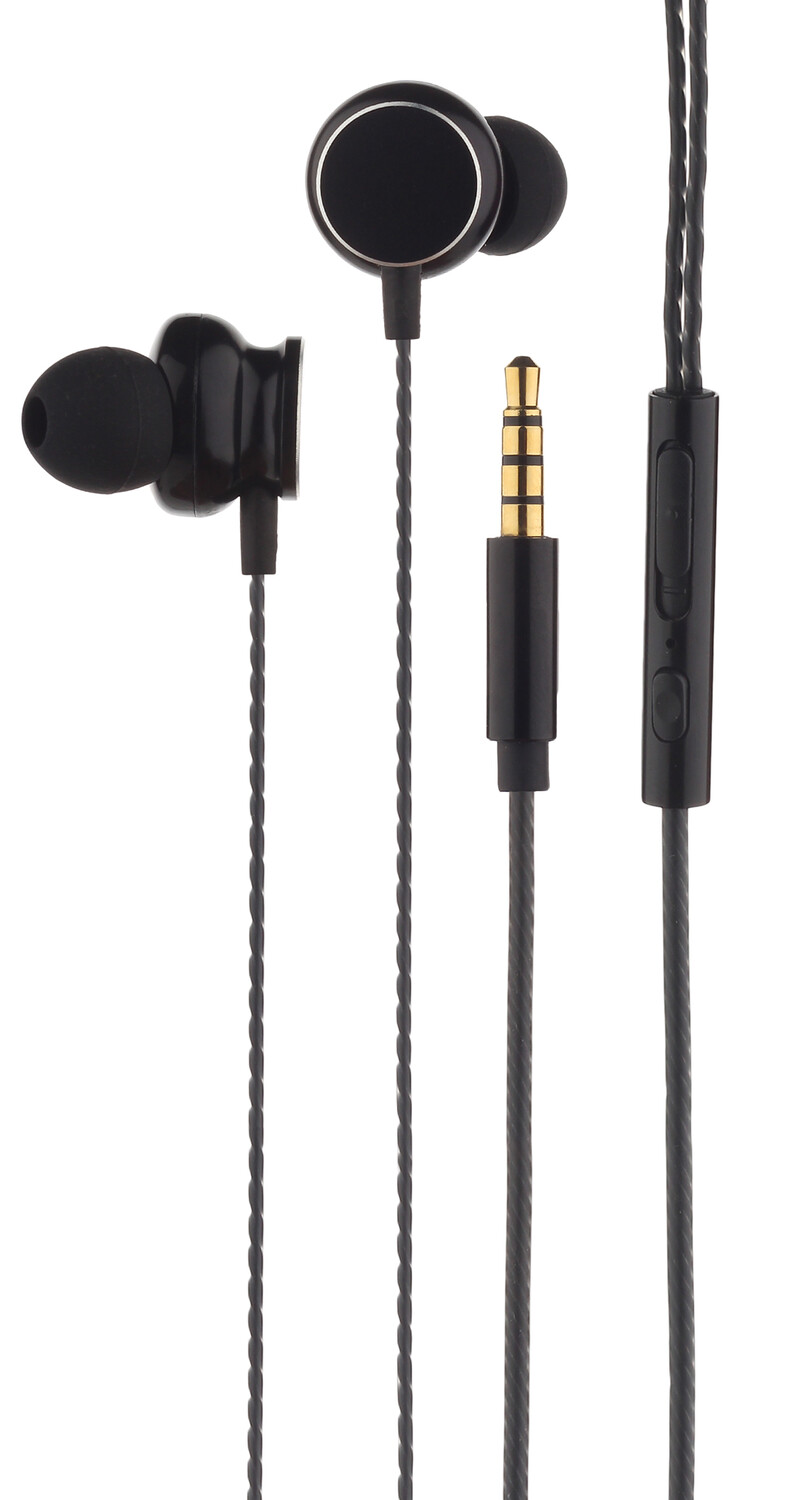 AURICULARES CON CABLE Y MICROFONO - EARPHONE