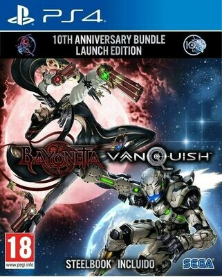 BAYONETTA & VANQUISH [10TH ANNIVERSARY BUNDLE LAUNCH EDITION] - PS4