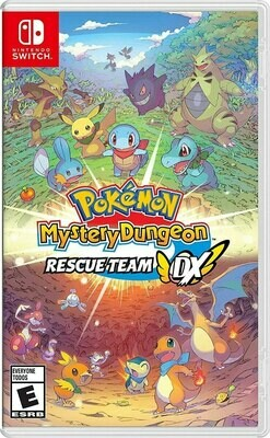 POKEMON MYSTERY DUNGEON: RESCUE TEAM DX - NSW