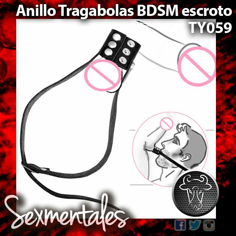 Anillo Tragabolas BDSM Escrotal  TY059 - Sexmentales