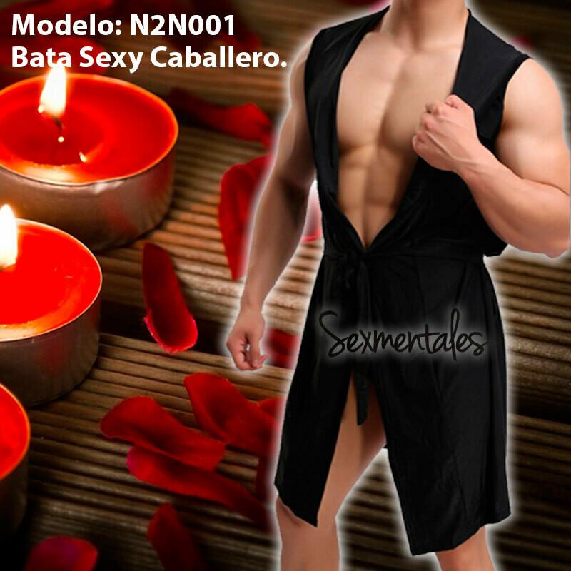 Bata De Descanso Ardiente Y Sexy Para Caballero LTH001 - Sexmentales