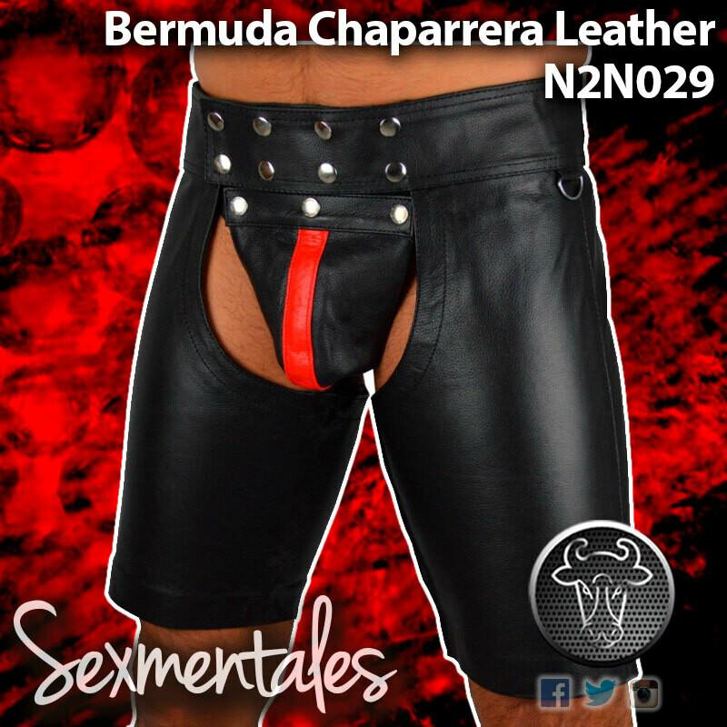 Bermuda Chaparrera Imitacion Piel LTH029 - Sexmentales