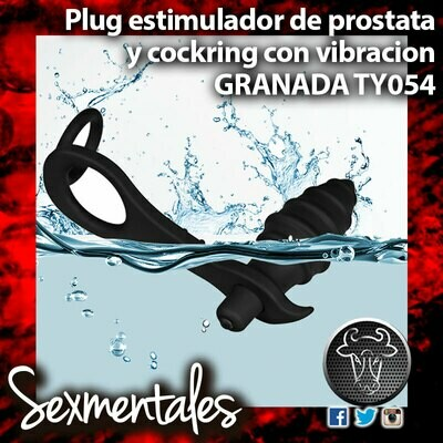 Plug Anal Granada 10 Intensidades Sumergible TY054 - Sexmentales