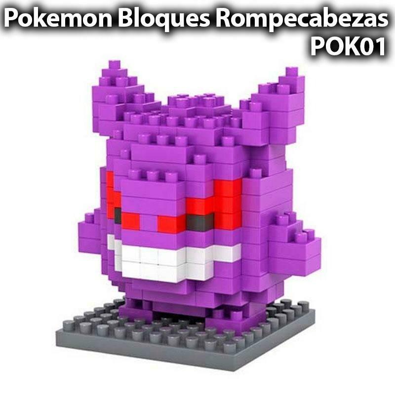 Gengar Pokemon Lego Mini Blocks Rompecabezas Armable - Sexmentales