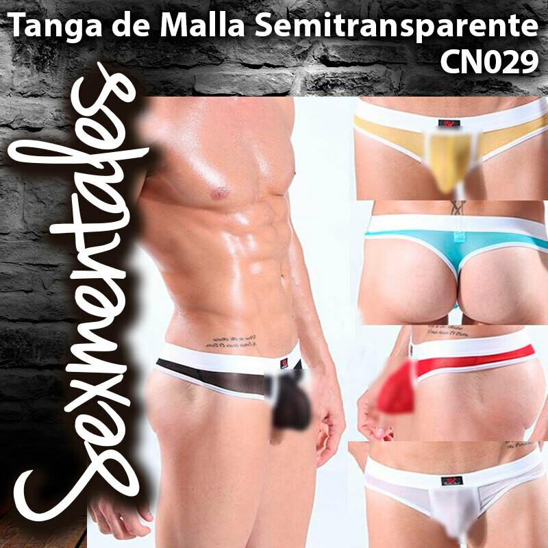 Tanga de Malla Transparente  CN029 - Sexmentales