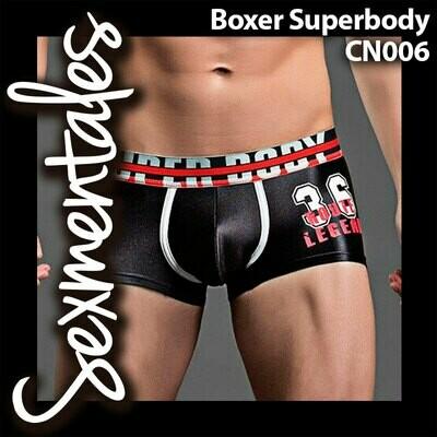 Boxer Superbody con Malla UltraFresh. CN006 - Sexmentales