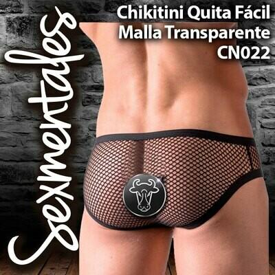 Bikini Chikitini Malla Transparente CN022  Sexmentales
