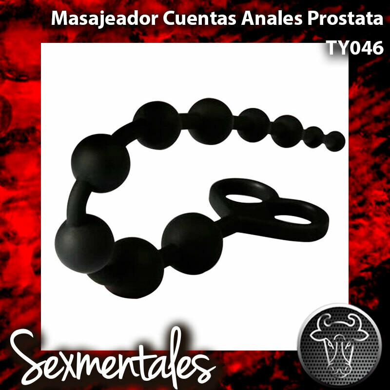 Plug Dilatador Cuentas Anales TY046 Sexmentales