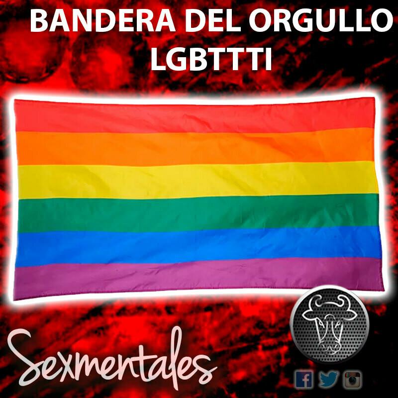 Bandera del Orgullo Gay LGBTTTI