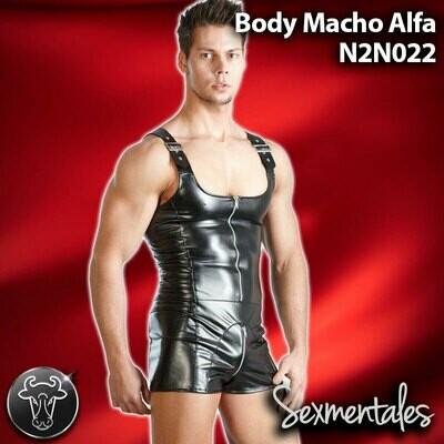 Body Macho Alfa Imitacion Piel estilo Leather LTH022 - Sexmentales Leather