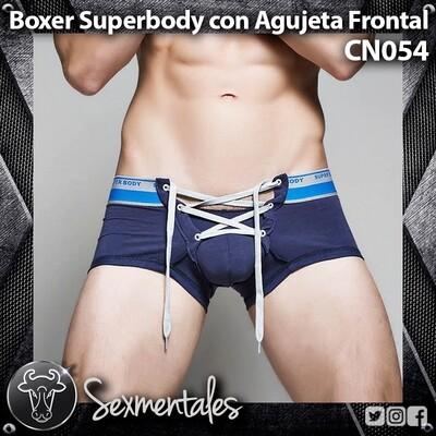 Boxer con agujeta frontal Superbody CN054 Sexmentales