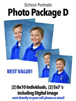 PACKAGE D with digital image
