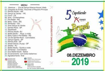 DVD DANÇA ESPETÁCULO KDANCE 2019
