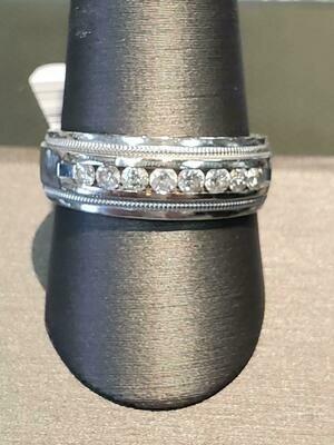 Diamond Fashion Ring 14K White Gold