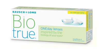 Biotrue ONEday® for Presbyopia