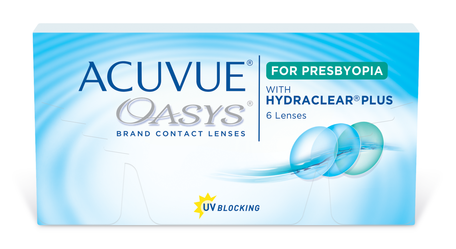 ACUVUE® OASYS® for PRESBYOPIA