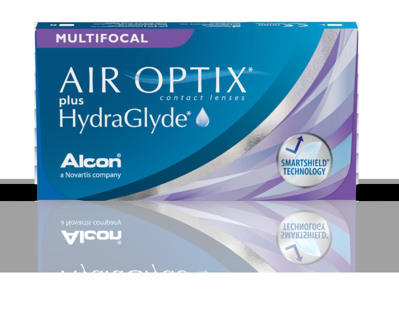 AIR OPTIX® Multifocal plus HydraGlyde®