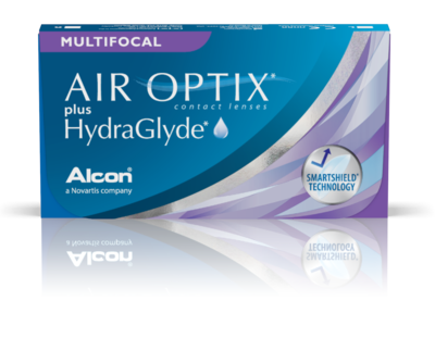 AIR OPTIX® Multifocal plus HydraGlyde®