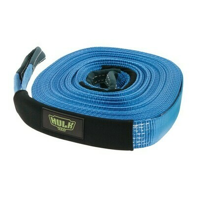 WINCH EXTENTION STRAP BLUE 50MM X 20M