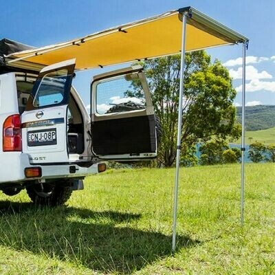 REAR AWNING WITH STORAGE BAG