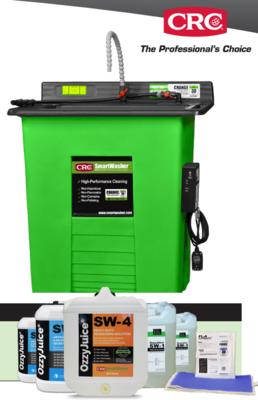 CRC SMART WASHER SW-25 WITH STARTER KIT SW-X1 FL-4