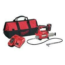 M18 CORDLESS 2-SPEED GREASE GUN KIT