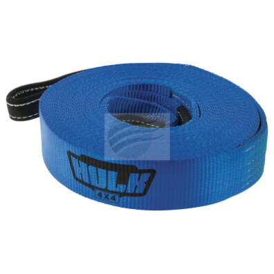 WINCH EXTENSION BLUE STRAP 60MM X 18M