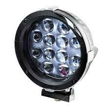 THUNDER LED DRIVING LIGHT ROUND 10-30V 12 LED 40W SPOT BEAM
