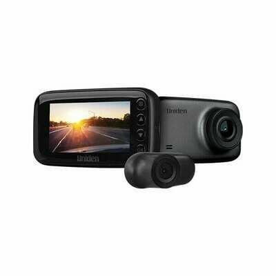 UNIDEN FHD + VGA DASH CAM GPS