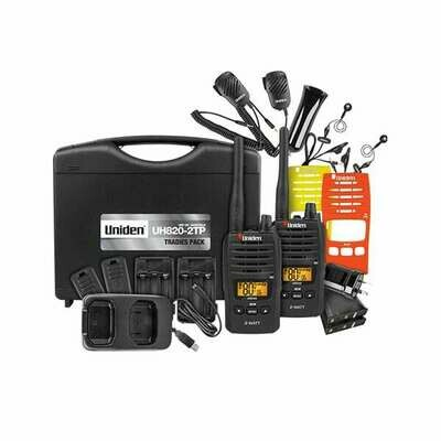 UNIDEN 2W UHF H-HELD TRADIES PACK