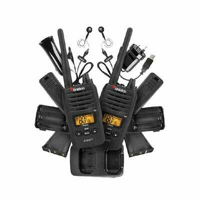 UNIDEN 2W UHF H-HELD TWIN PACK
