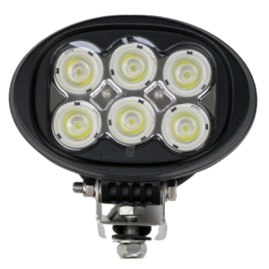 60W OVAL LIGHT, AGRICULTURE, MINING, 4WD