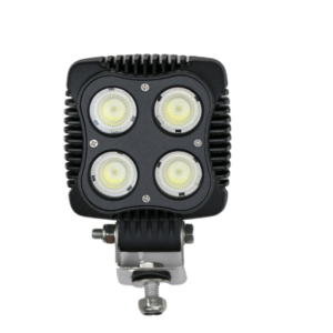 40W SQUARE FLOOD/WORK LIGHT, AGRICULTURE, MINING, 4WD